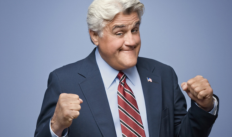 ca. 2009 --- Jay Leno --- Image by © Matthias Clamer/Corbis Outline