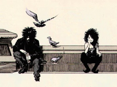 (Dream and Death from the Sandman comics. I always had a crush on Death).