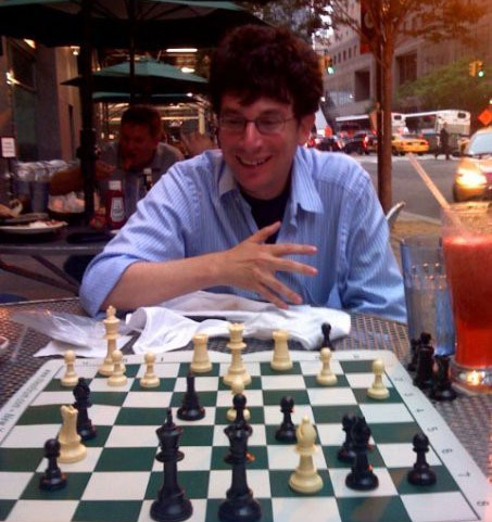 James Altucher playing chess